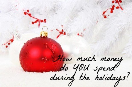 spend during the holidays