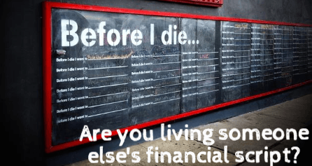 financial script