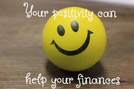 help your finances with positivity